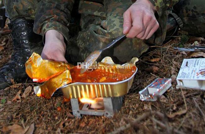 Vajilla de picnic plegable para acampar al aire libre 3 en 1 Tenedor y cuchara plegables de acero inoxidable de alta calidad