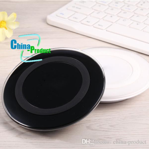 Qi Standard Wireless Charger for Samsung Mini Charging Pad Docking Station Plate for Galaxy S6 Edge G920 G925