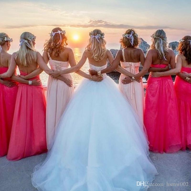 Sıcak Satış Sevgiliye Lace Up Balo Gelinlik Artı Boyutu Büyüleyici Aplikler Gelin Törenlerinde Gelinlik Custom Made