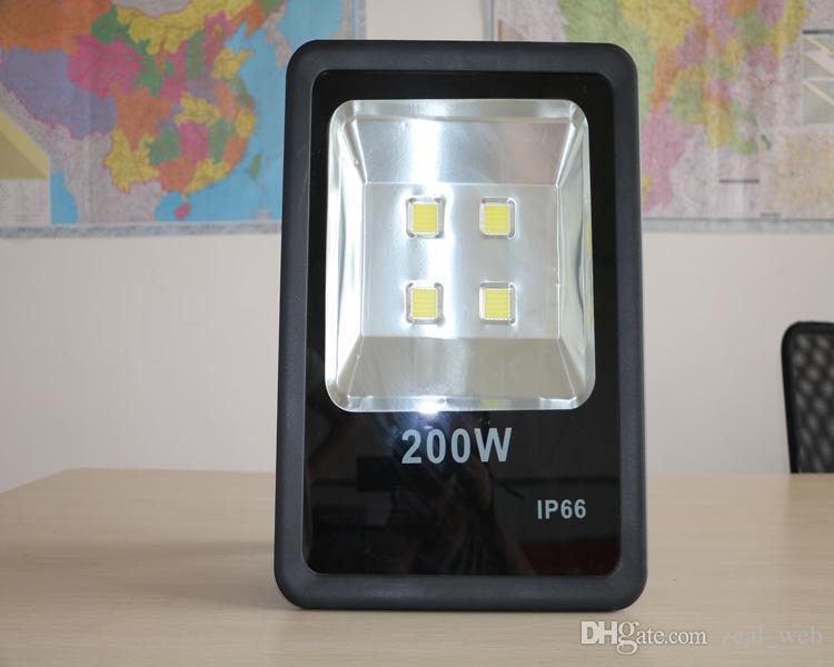 DHL free 200W LED floodlight 2016 original 90V-270V 26000lm factory price LED lights outdoor indoor LED lighting