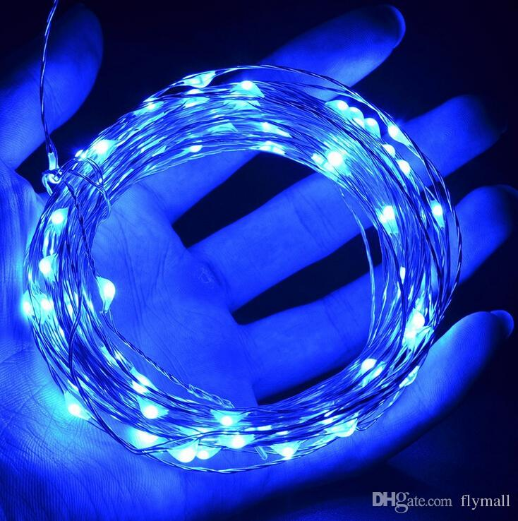 10M 33ft 100 led 5V USB Operated Warm white/RGB Led Copper Wire String Lights Christmas Festival Light Wedding Party Decoration Led Strings