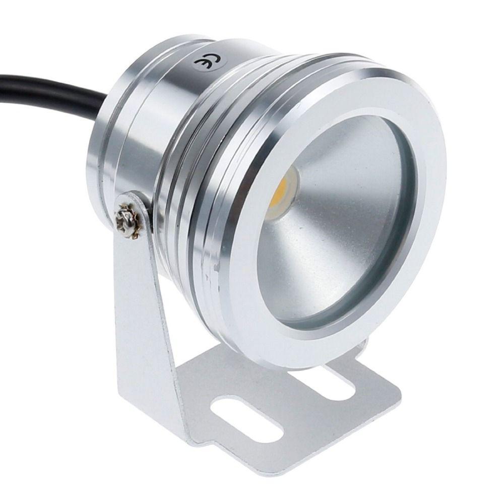 10w 12v LED Underwater Light Underwater Spotlight Waterproof Spotlight For Swimming Pool Pond Fish Tank Aquarium Waterproof