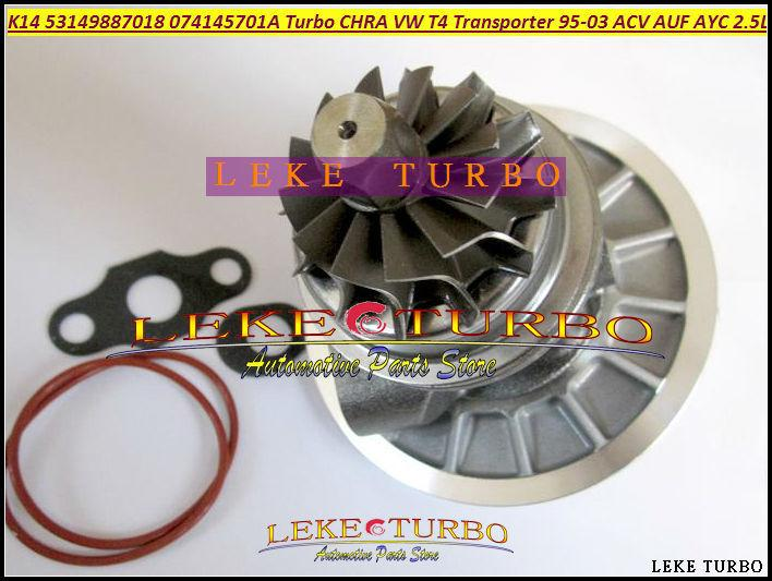 K14 53149887018 53149707018 074145701A Turbocharger Cartridge CHRA Turbo For Volkswagen VW T4 Transporter 1995-03 ACV AUF AYC 2.5L TDI (5)