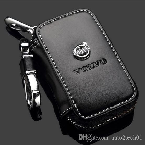 Volvo Key Replacement Cost: Volvo Key Case Premium Leather Car Key Chains Holder