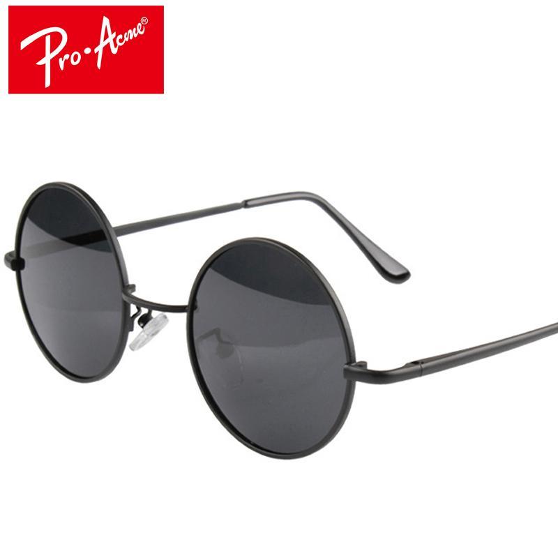 b8a7c653ba Wholesale- Pro Acme Classic Round Retro Polarized Steampunk Sunglasses Men Women  Vintage Eyeglasses Fashion Steampunk Sun Glasses CC0102 Fashion Sun Glasses  ...