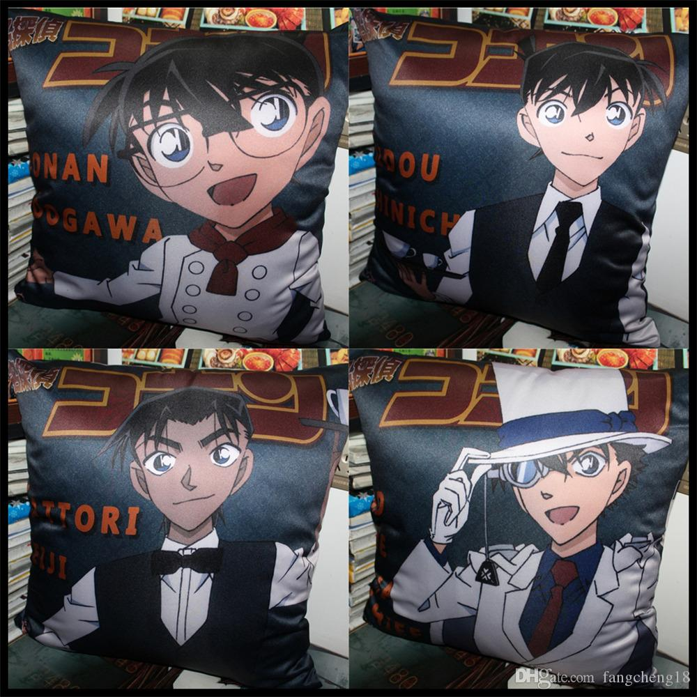 Anime/Detective Conan Edogawa/Anita Hailey/Jimmy Kudo/Rachel Moore/Hattori  Heiji/Kaitou Kiddo soft and comfortable Cushion/pillow/present