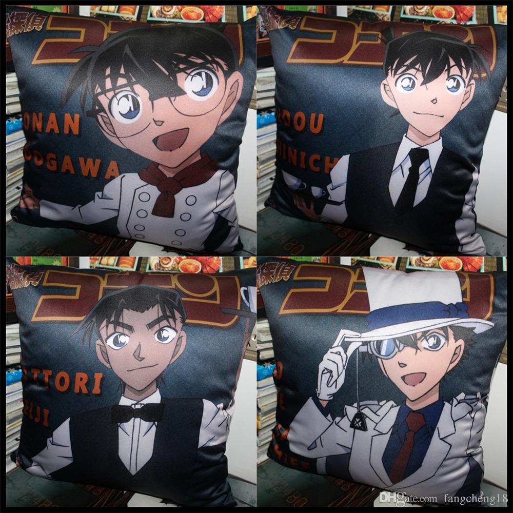 Grosshandel Anime Detektiv Conan Edogawa Anita Hailey Jimmy Kudo Rachel Moore Hattori Heiji Kaitou Kiddo Weich Und Bequem Kissen