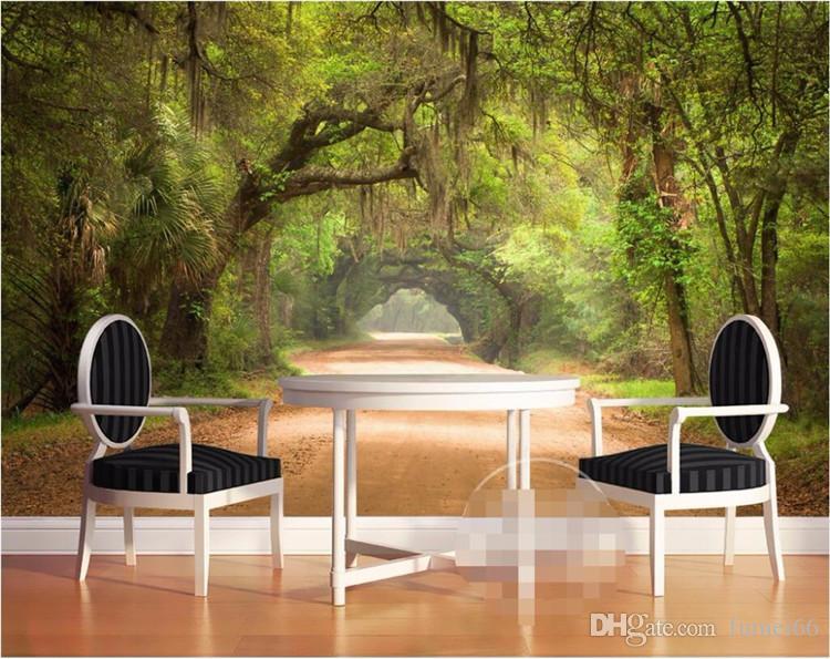 Acheter décor À la maison photo fonds d écran pour salon route