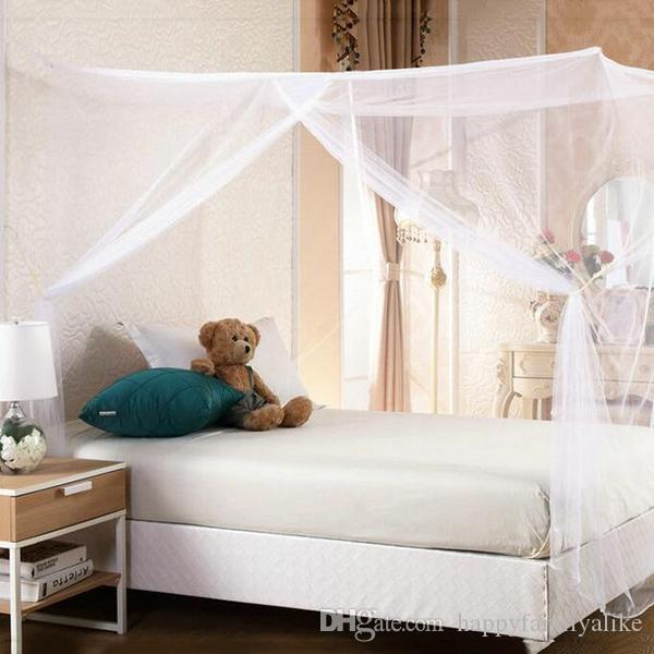 Double Bed Canopy 1.5m mosquito net bed nets mosquitoes curtain square shape