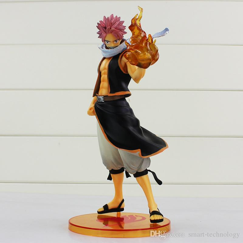 Anime Fairy Tail Action Figure Natsu Dragneel PVC Figure Toy Model 23CM High Quality Best Gift
