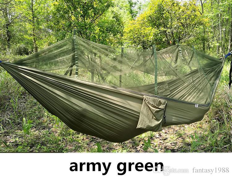나무 텐트 2 사람 쉬운 나르는 빠른 자동 오프닝 텐트 해먹 침대 넷 여름 옥외 에어 텐트 빠른 배송