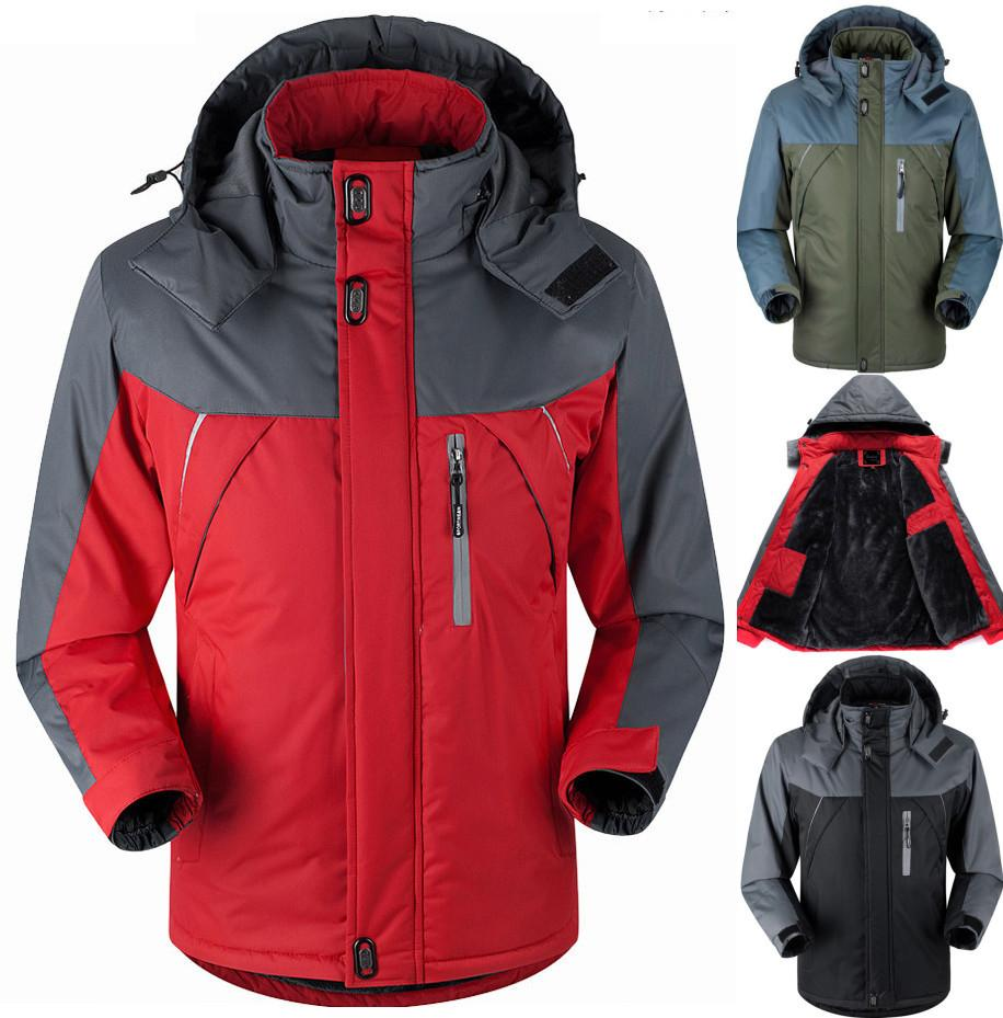 Best Winter Men Jacket Down Parkas Male Thermal Velvet Coat For Jaket Fleece Db Red Tourism Jackets Outerwear Jaqueta Waterproof Windproof Chaqueta Under 5832 Dhgate
