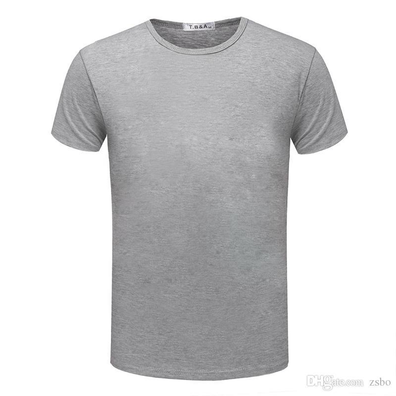 Diseño de moda nuevo color sólido camiseta hombres Sex Tops camisetas clásicas es 5 tamaño camisas estilo casual camiseta impresa TX95 RF