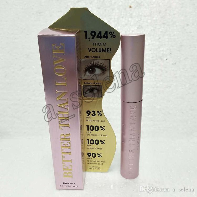 2017 Newest Hot Faced Mascara Better Than Love Better Than sex mind--blowing lashes thick fiber long roll waterproof dhl
