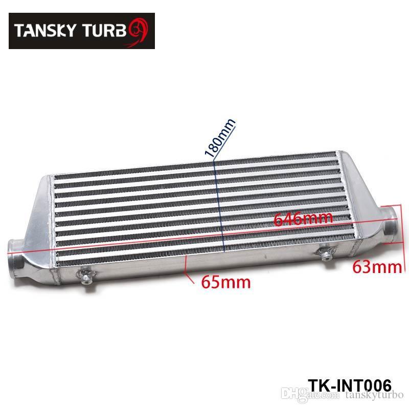 Tansky - New H G G 500x180x65mm Universal Front Mount Turbo Ladeluftkühler für Honda Civic Nissan Toyota TK-Int006
