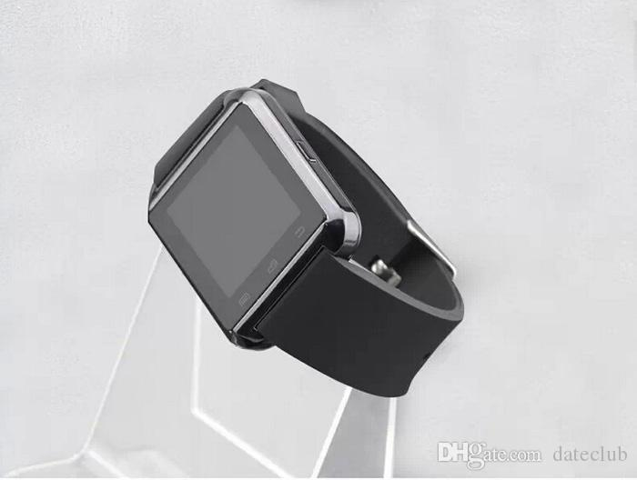 U8 Smart Watch Bluetooth Phone Mate Smartwatch Wrist for iphone 6 6plus 4S 5S for Samsung S6 S5 Note HTC LG