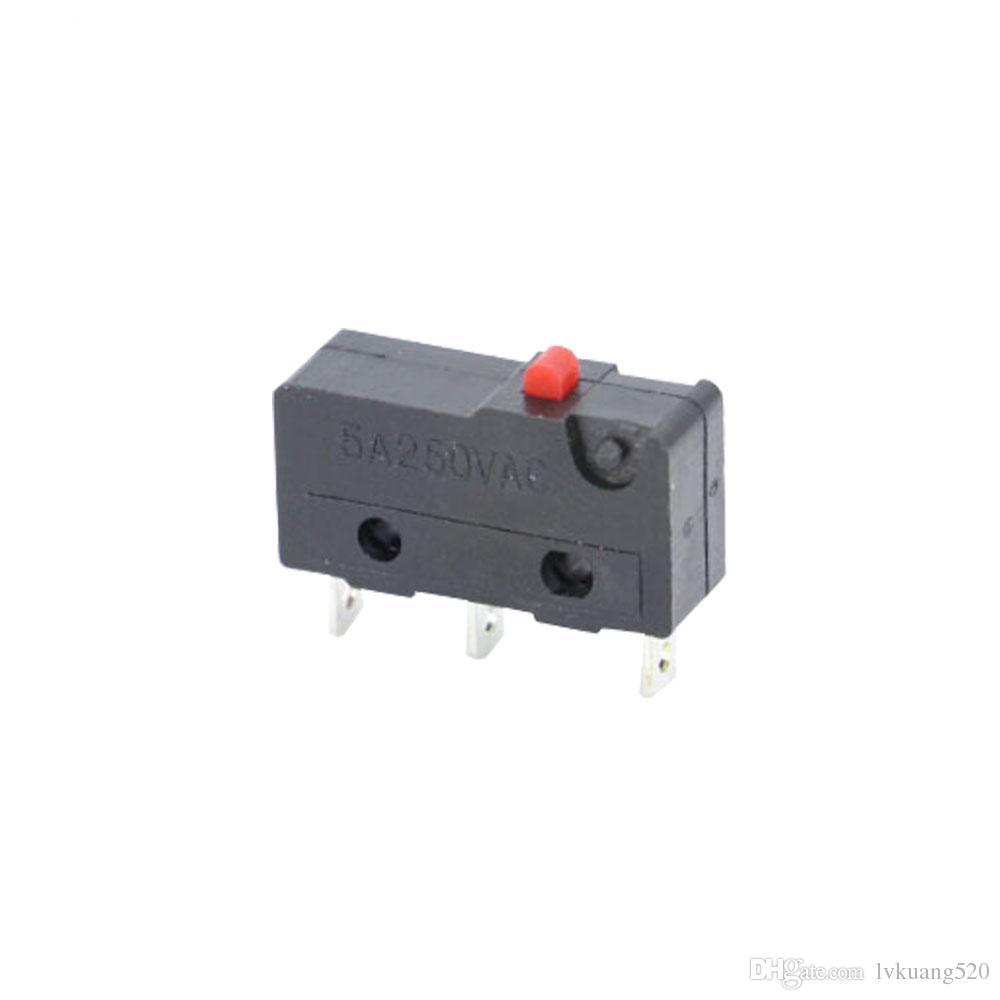 3pin All New Limit Switch N/O N/C 5A250VAC KW11-3Z Mini Micro Switch Sessile Laser Machine Micro Limit Sensor