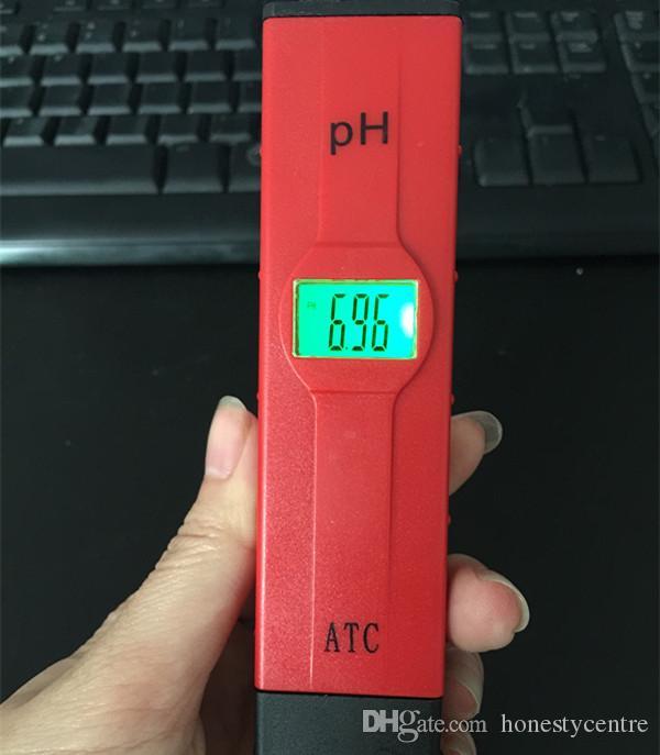 حار بيع الرقمية led ph متر الجيب القلم نوعية المياه مراقب تستر 0-14 قياس لحوض السمك أو المختبر
