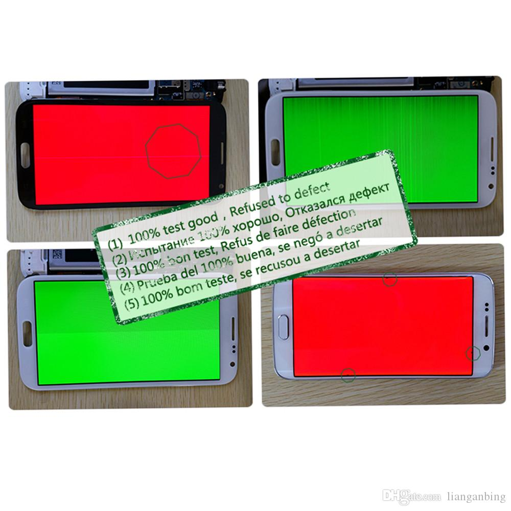 NEW LCD Display Touch Screen For Samsung Galaxy A5 A500 A500F A500M A500Y Not Adjusted Black White Gold With Tempered Glass DHL logistics