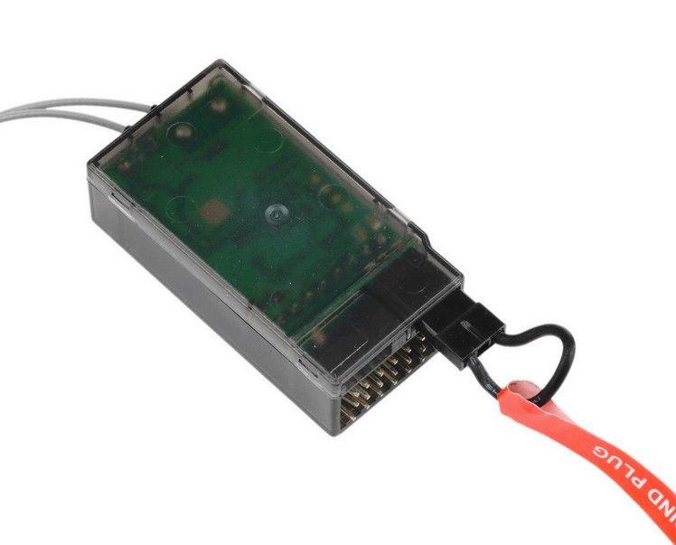 S603Receiver ReplaceAR6210 6 قناة DSMX DXM2 استقبال دعم JR و Spektrum DSM X و DSM2 syst مستقلة الإخراج PPM مجانية