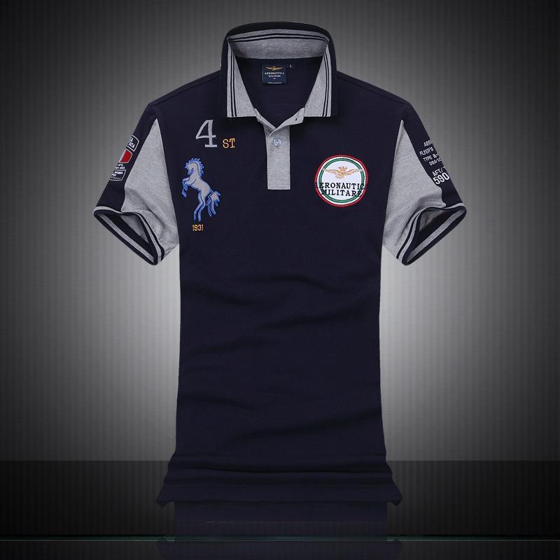 94dd8c6195 Compre 2016 M XXXL Camisas Dos Homens De Moda De Nova Marca Camisa  Ocasional Dos Homens Slim Fit Camisa Polo Homens