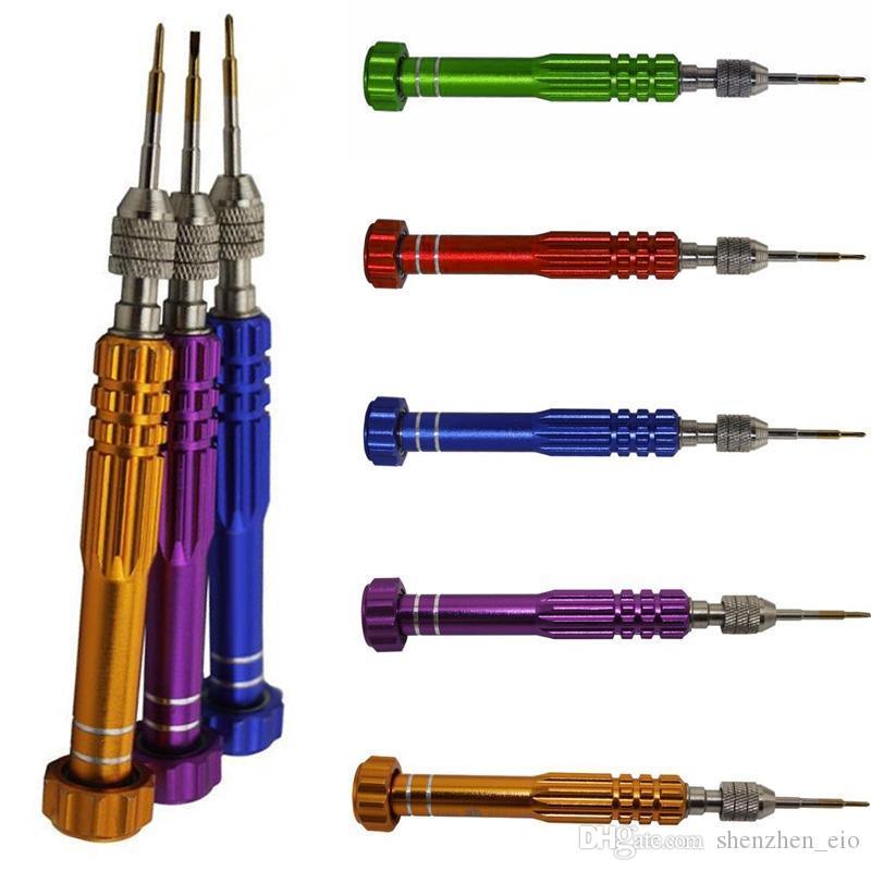 Multifunctional mobile phone dismantling 5 in 1 Repair Open Tools Kit Screwdrivers For iPhone Samsung Galaxy DIY Mobile Phone Accessories