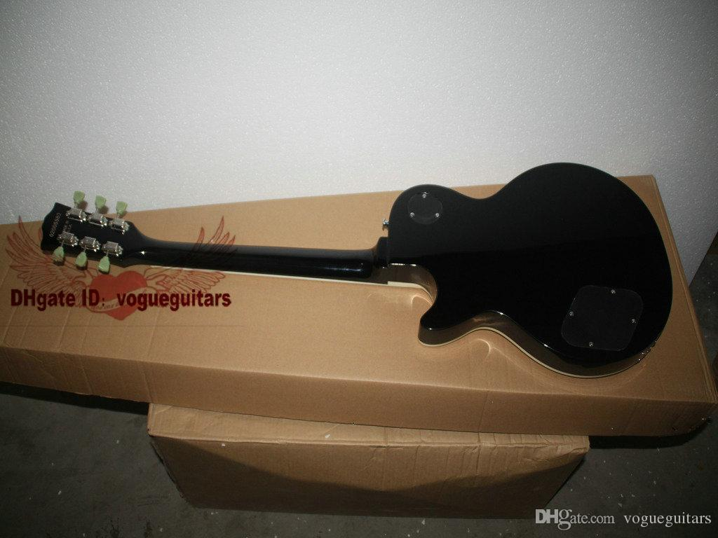 Новые пользовательские Goldtop электрогитара 2 звукоснимателя электрогитара OEM гитара бестселлеры горячие гитары