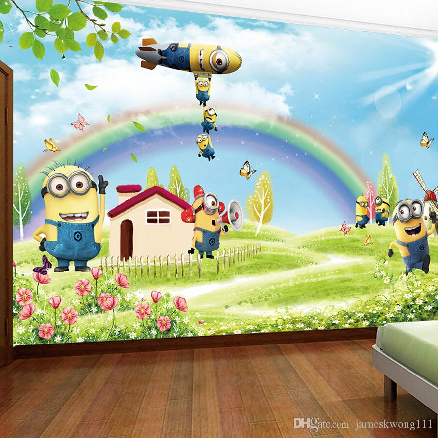 Custom photo silk 3d wallpaper for walls 3 d living kids room see larger image amipublicfo Images