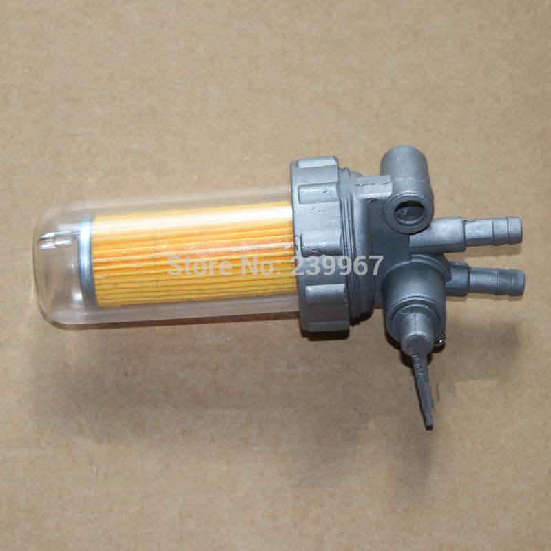 Топливный фильтр в сборе бесшумный тип для Yanmar L40 L48 L70 L100 Дизель бесплатная доставка запасная часть