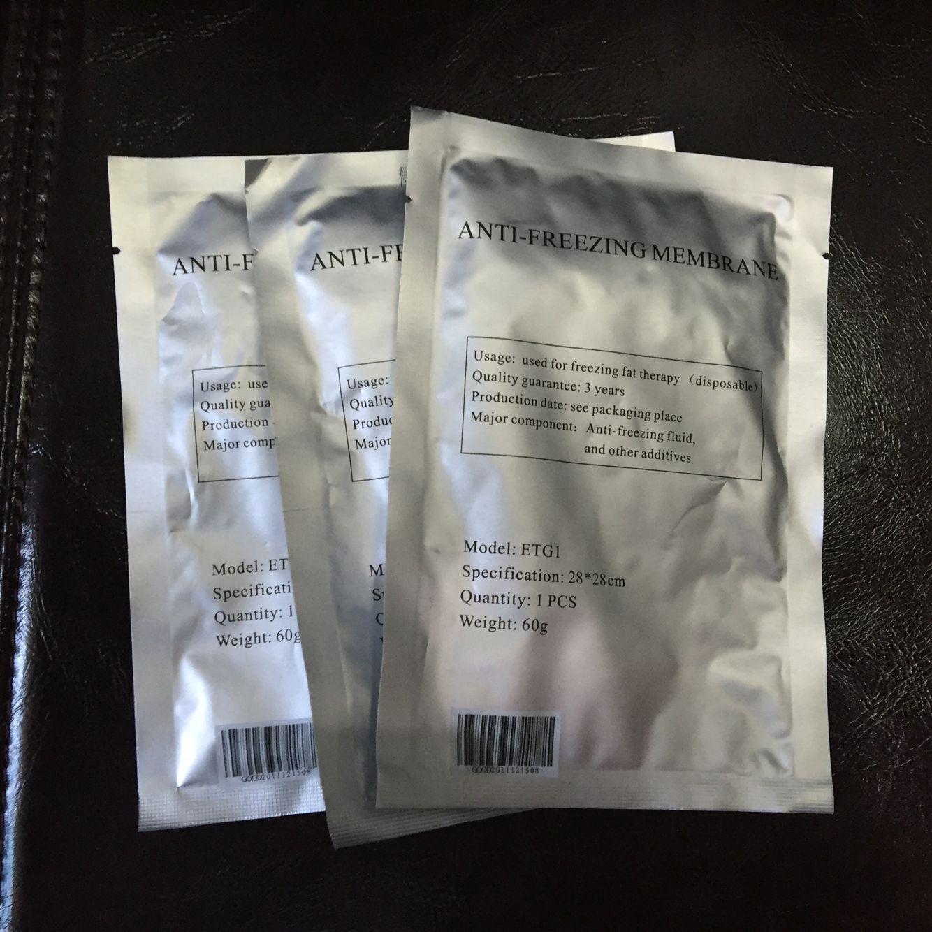 Anticongelante membranas Freeze Fat contra enfriamiento membrana anticongelante almohadilla de gel para la grasa crioterapia congelación fresco esculpir tratamiento libre de DHL