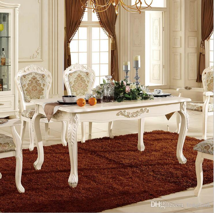 Online Cheap New Arrival Hot Selling Modern Style Italian Dining Table,  100% Solid Wood Italy Style Luxury Dining Table Set Pfy10028 By Tengtank |  Dhgate.
