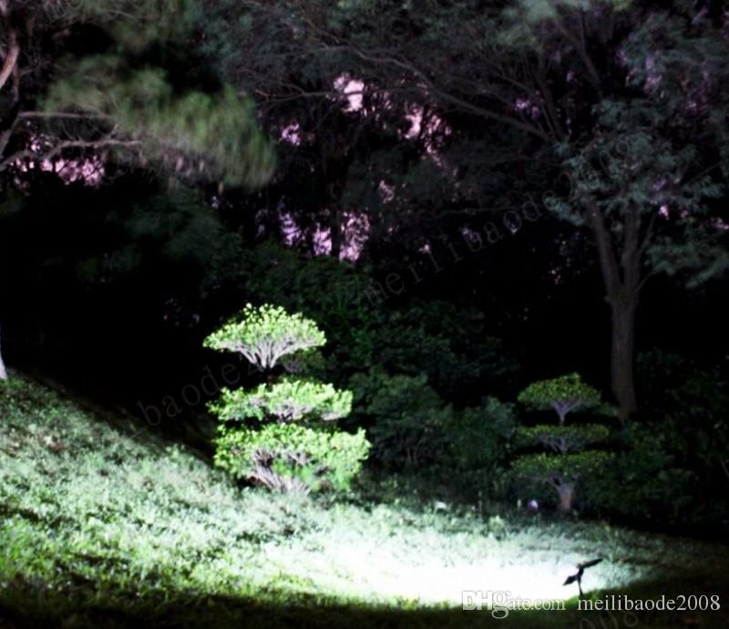 2017 Nueva Llegada Lámpara de césped Lámpara de césped al aire libre 48 LEDS Wall Spotlight Garden Lámpara de calle Paisaje Luces Myy