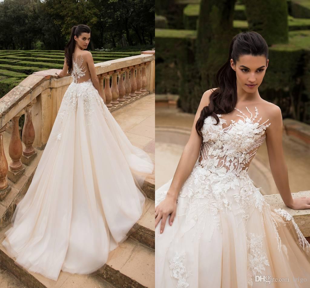 elegant wedding dresses 2017
