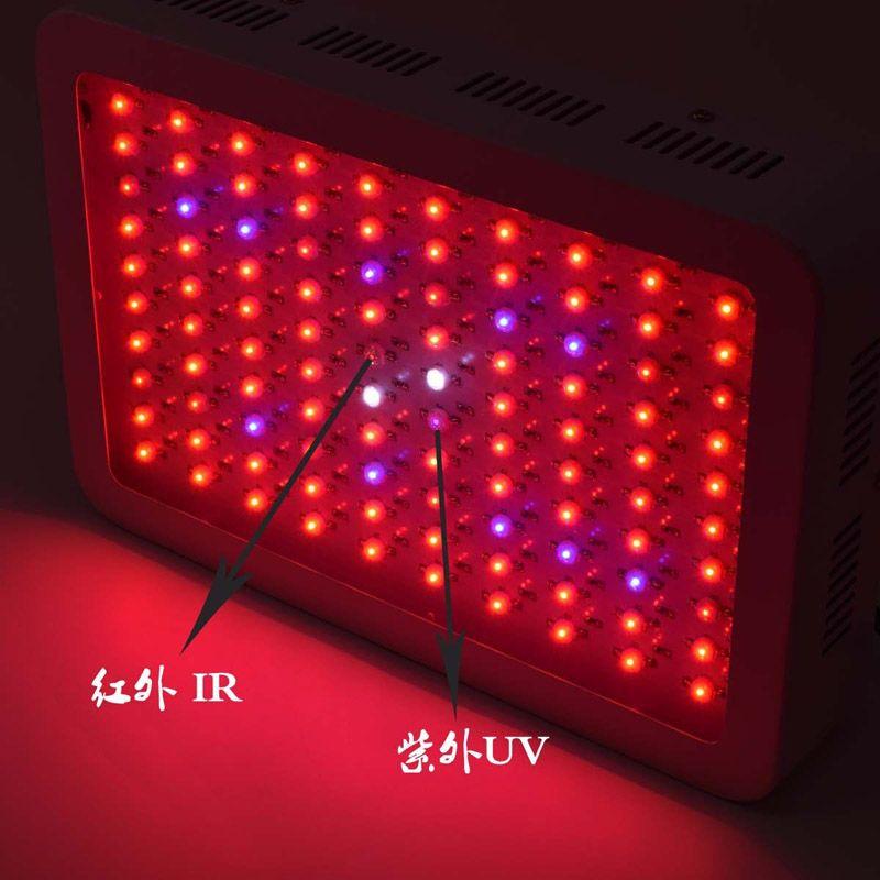 Recomendado Alta Custo-efetivo 1000W LED crescer luz com 9-band espectro completo para sistemas hidropônicos mini lâmpada LED iluminação luzes LED 333