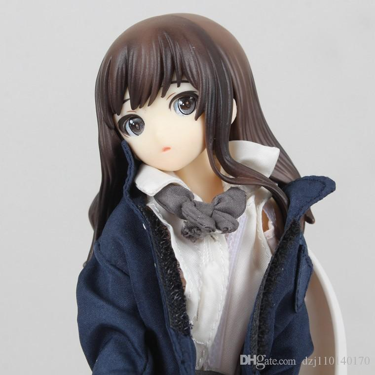 New Hot Sexy Japanese Anime Figures Touko In The Lavatory Creators Collection 1/8 Scale 18cm Action Figure Anime PVC Figure Action Toy