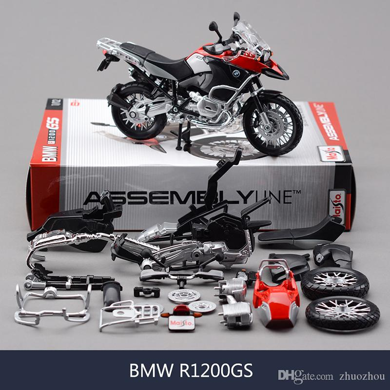 2018 1:12 R 1200 Gs Motorcycle Model Building Kits 1/12 Assembly Toy ...