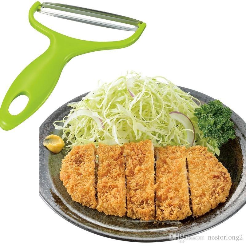 Araçlar Pişirme Paslanmaz Çelik Sebze Soyma Lahana rendeler Salata Patates Dilimleme Kesici Meyve Bıçağı Mutfak Aksesuarları