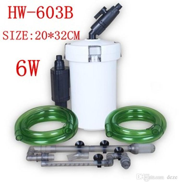 Super quiet sunsun hw 603b 6w 400l h aquarium fish tank for Quiet fish tank filter