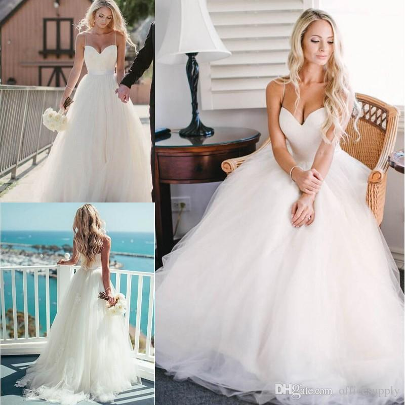 Wedding Dresses with Straps