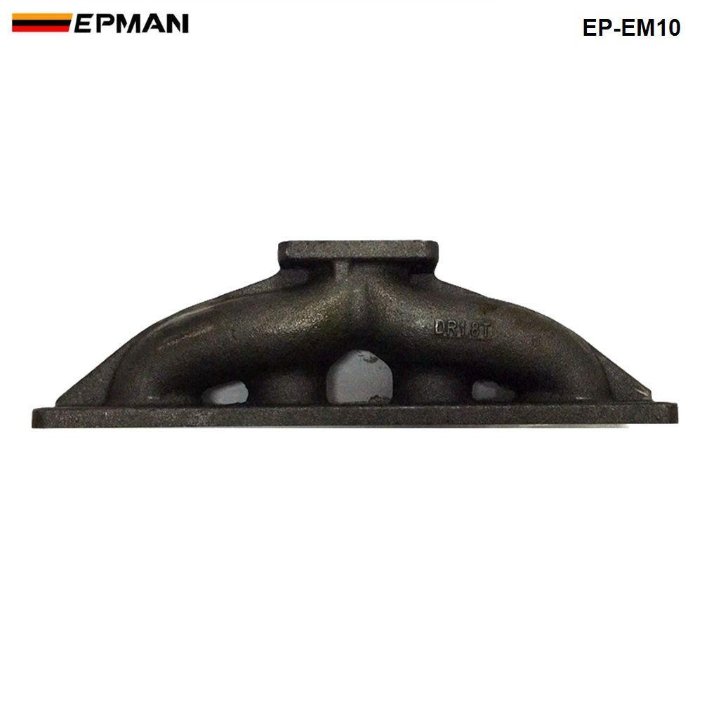 Epman Längsrichtung T3 / T25 Gusseisen Turbo-Abgaskrümmerkopf für VW VAG 1.8 1.8T 20V EP-EM10