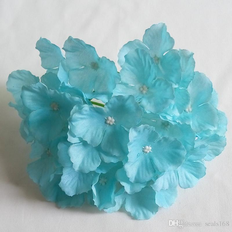 2017 künstliche Blumen Hortensien Blüte Hochzeit Dekoration Lieferungen Simulation Gefälschte Blüte Hauptdekorationen HH7-165