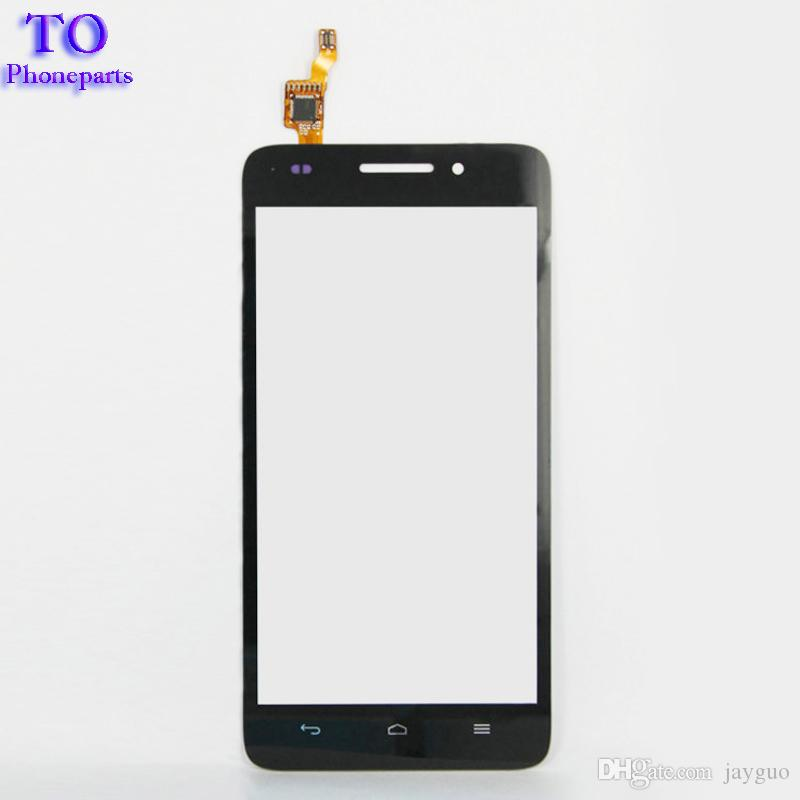 Black White Touchscreen Sensor For Huawei G620S G621 8817E 8817S Touch Screen Panel Digitizer Front Glass Assembly Replacement