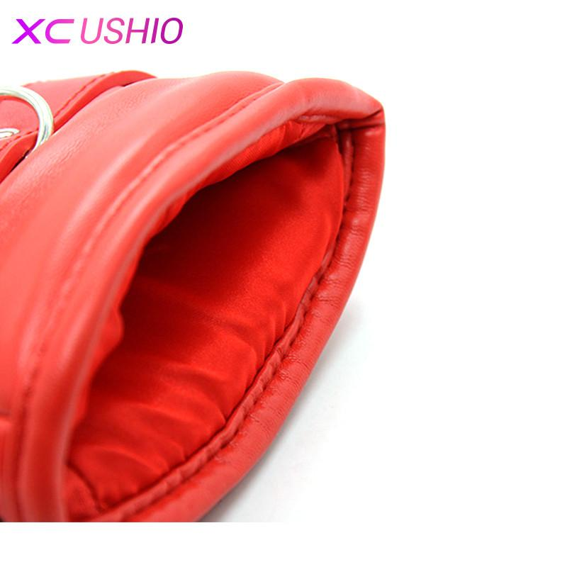 Lockable Padded Bondage Mitts Pony Play Mittens Gloves Sex Hand Bondage Restraint Adult Game Sex Toys for Couple 0701