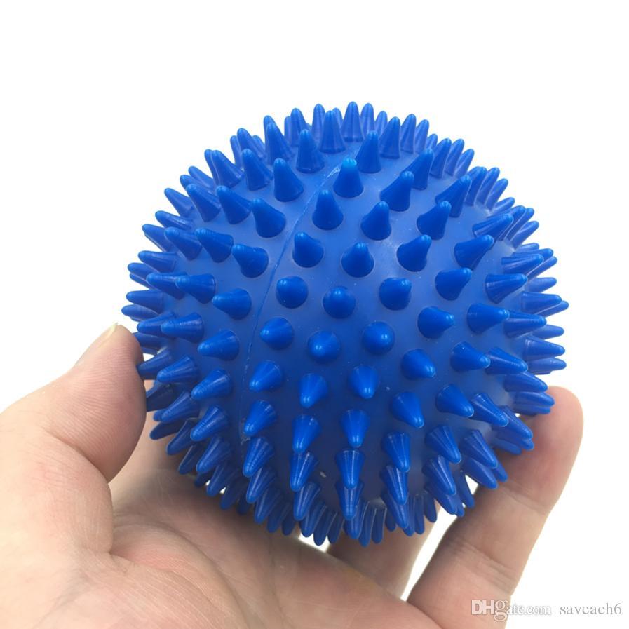 i Spiky Point della sfera di massaggio trigger Roller Riflessologia Stress Relief Palm piede del braccio posteriore del collo Full Body Massager