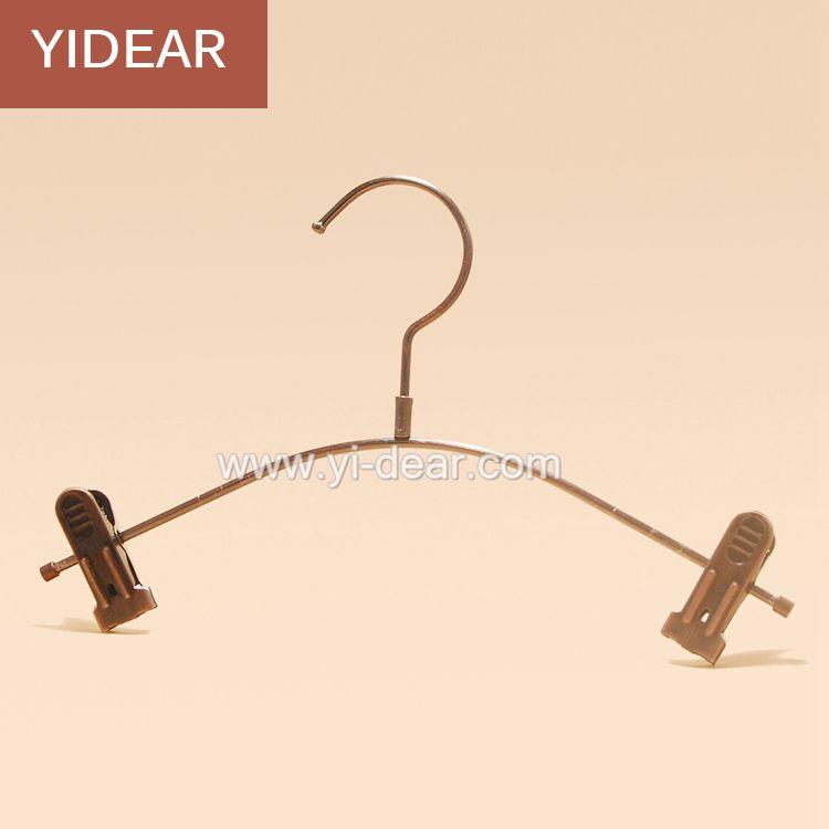 2018 Yidear 27cm Vintage Small Children Pants Hanger Metal Wire ...