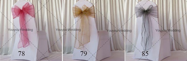 YELLOW LEMON organza chair 새시 결혼식, 파티, 호텔 장식 사용에 대 한 무료 배송 많은