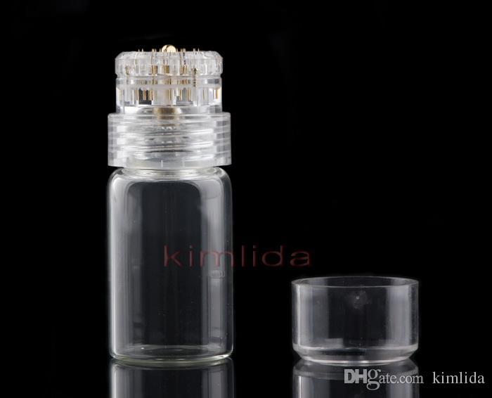 2018 Hydra Needle 20pins Titanium Microneedle Meso Derma Roller Needle-free Mesotherapy Skin Care Rejuvenation Whiten Anti Wrinkle Acne