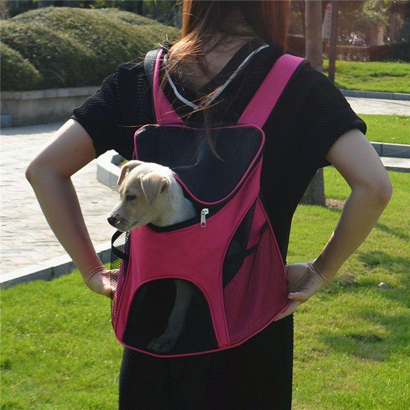Haustier-Träger-Art- und Weisebreathable tragende Katzen-Hundewelpen-Komfort-Reise-im Freien Schulter-Rucksack tragbar