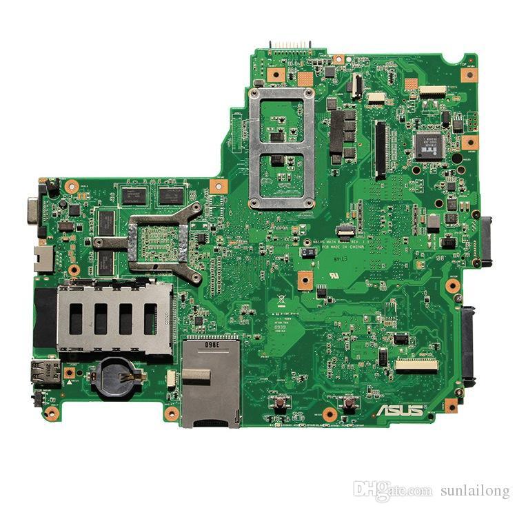 n61vg REV 1.1 Main Board for asus N61VG Laptop Motherboard Intel PM45 Motherboard NVIDIA GT 220M 1G GPU