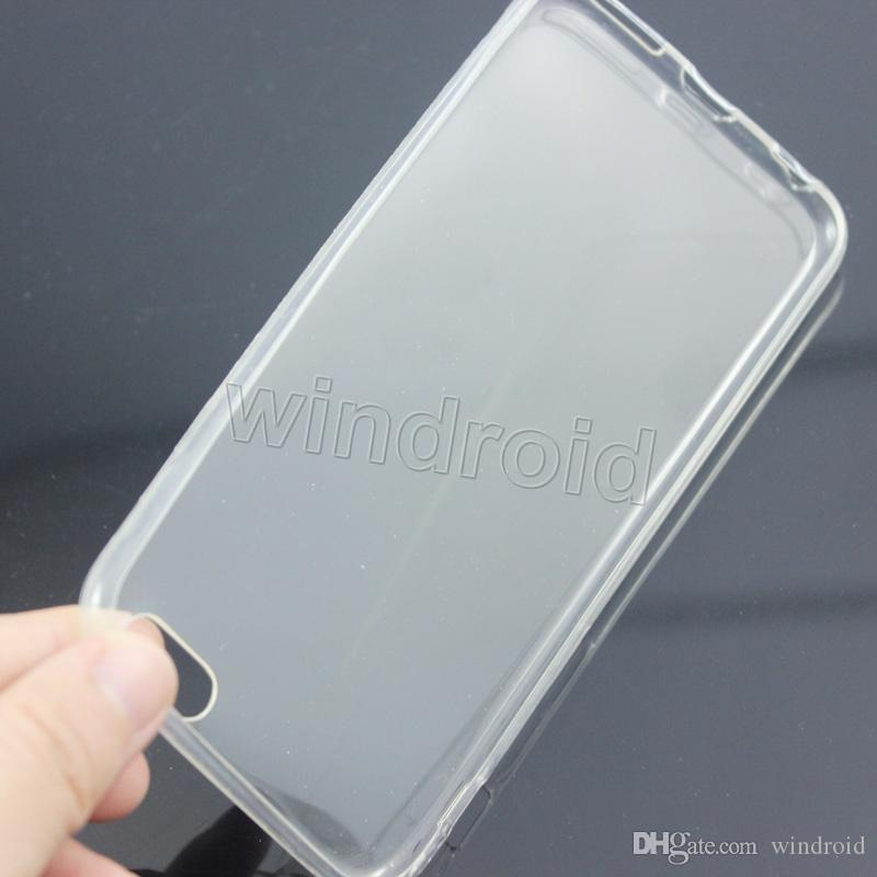 Ultra-Ince Kristal Şeffaf Şeffaf TPU jel yumuşak Kauçuk Kılıf Kılıflar Samsung S7 Kenar iPhone 6 Için i6s artı se Ucuz Ücretsiz DHL 50 adet
